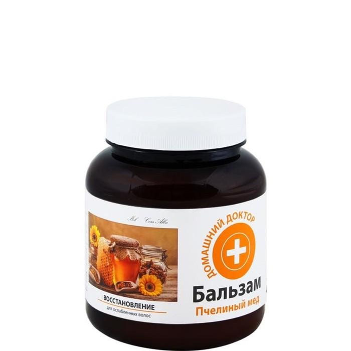 Бальзам для волос Домашний доктор «Пчелиный мед», восстановление, 480 мл