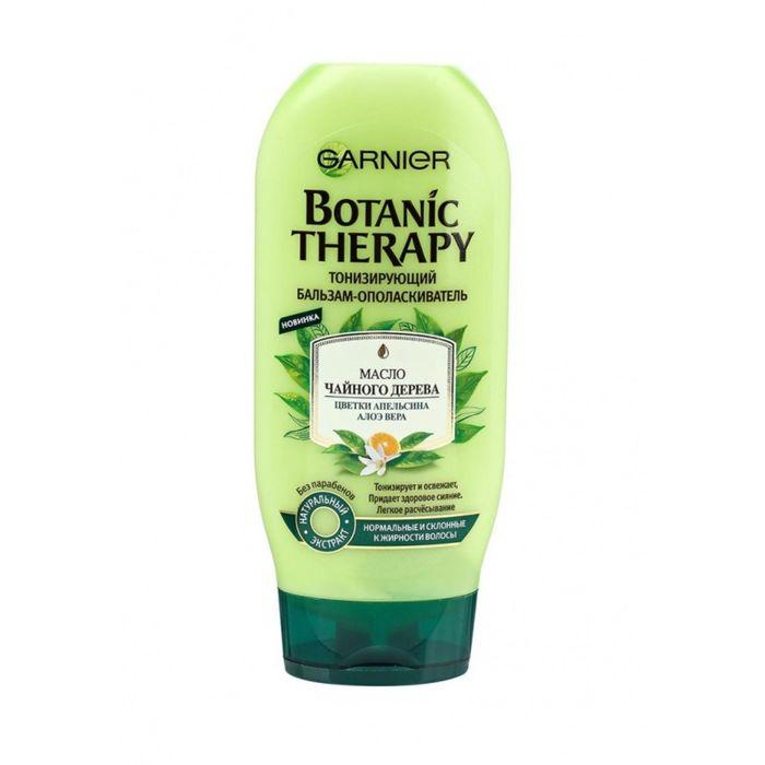 Бальзам для волос Garnier Botanic Therapy тонизирующий, с маслом чайного дерева, 200 мл