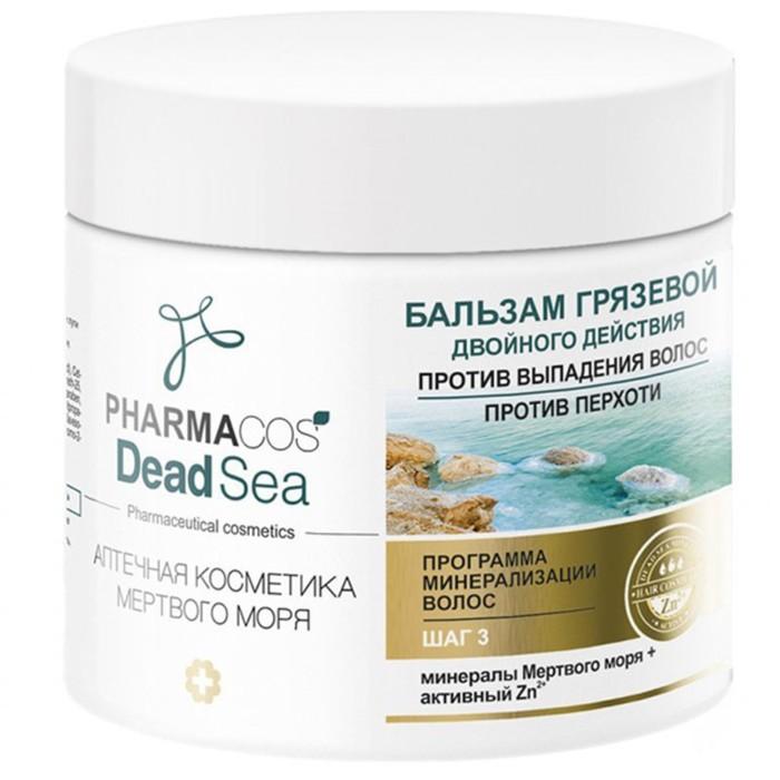 Бальзам для волос Bitэкс Pharmacos Dead Sea против перхоти и выпадения волос, 400 мл