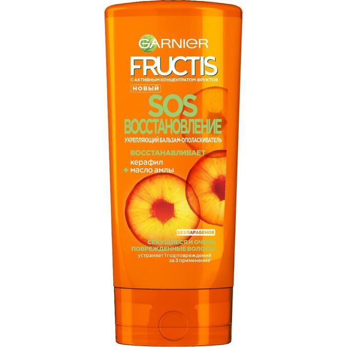 Бальзам Fructis SOS Восстановление, для секущихся и поврежденных волос, 387 мл