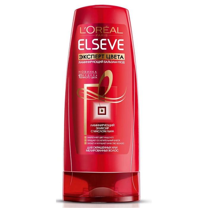 Бальзам для волос L'Oreal Elseve «Эксперт Цвета», для окрашенных или мелированных волос, 400 мл