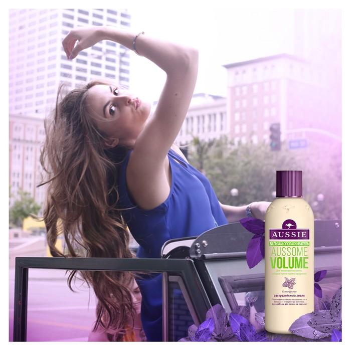 Бальзам-ополаскиватель Aussie Aussome Volume для тонких волос, 250 мл