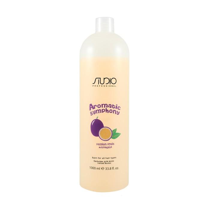Бальзам для всех типов волос «Маракуйя» Studio Professional, 1000 мл