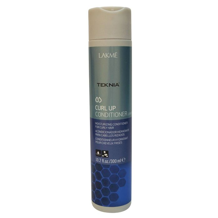 Кондиционер несмываемый увлажняющий для вьющихся волос и волос после химической завивки Lakme Teknia Curl Up, 300 мл