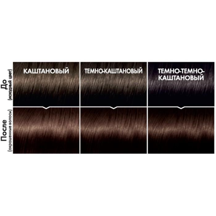 Краска для волос L'Oreal Casting Creme Gloss, без аммиака, тон 323, Чёрный шоколад