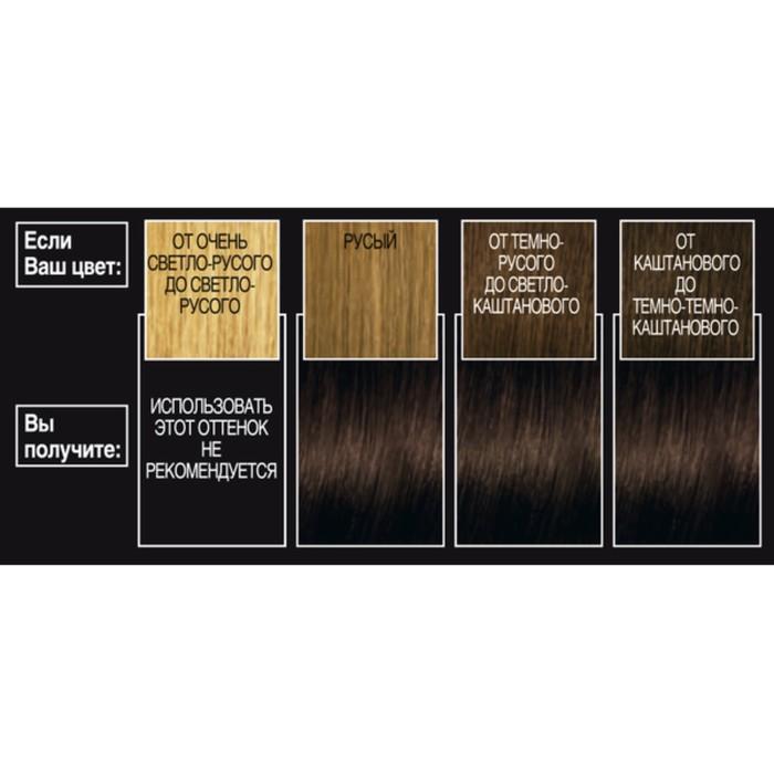 Краска для волос L'Oreal Recital Preference, тон 4.01, «Париж», глубокий каштановый