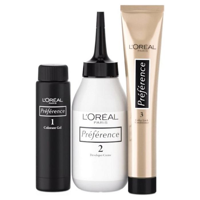 Краска для волос L'Oreal Recital Preference стойкая, оттенок 9.23 «Розовая платина»