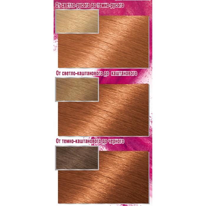 Краска для волос Garnier Color Sensation «Роскошный цвет», тон 8.24, солнечный янтарь