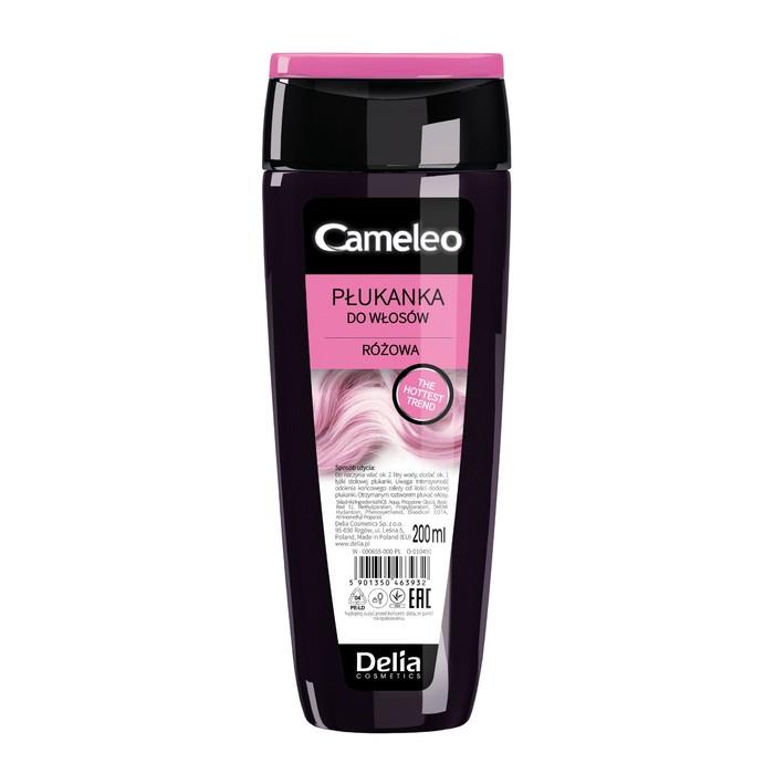 Оттеночный ополаскиватель для волос Cameleo, тон розовый, 200 мл
