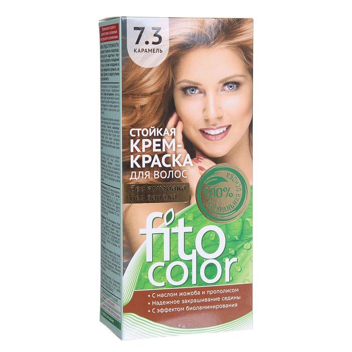 Стойкая крем-краска для волос Fitocolor, тон карамель, 115 мл