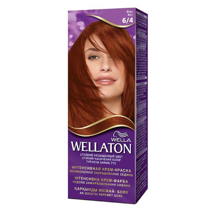 "Крем-краска Wellaton ""Медь 6/4"", 60 мл"