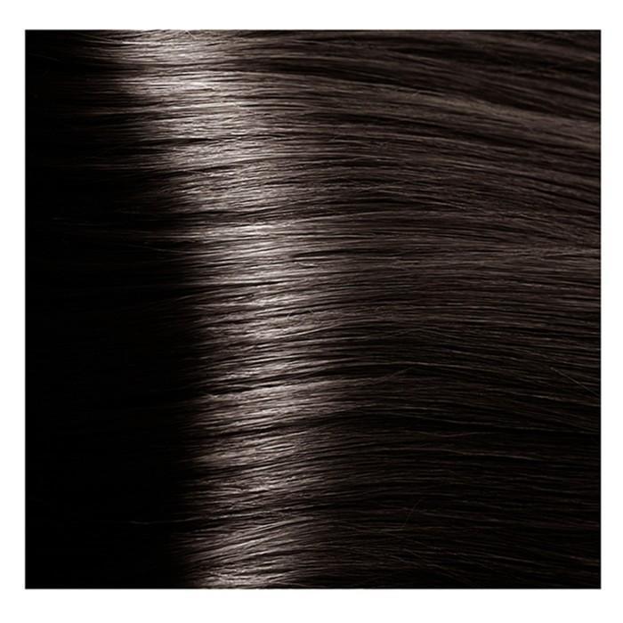 Крем-краска 4.12 коричневый пепельно-перламутровый Studio Professional с экстрактом женьшеня и рисовыми протеинами, 100 мл
