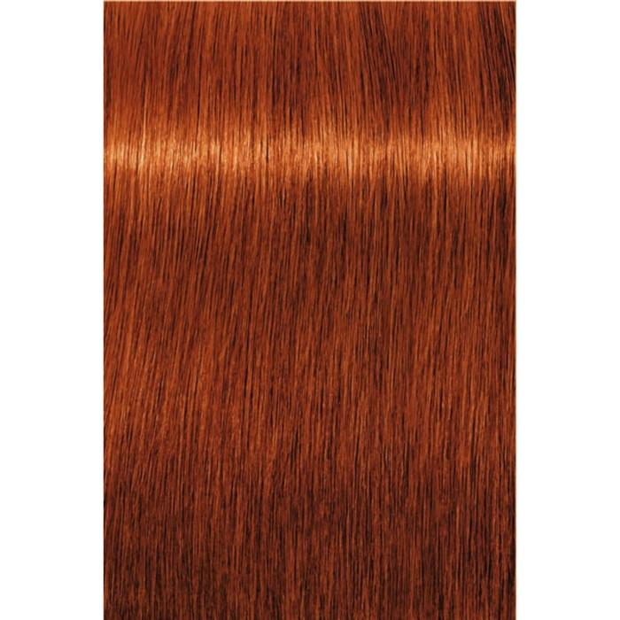 Перманентный крем-краситель Indola Red & Fashion 7.44 Средний русый интенсивный медный, 60 мл
