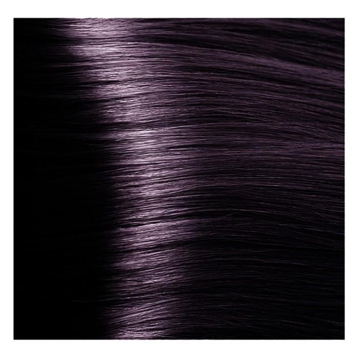 Крем-краска 4.20 Фиолетово-коричневый Studio Professional с экстрактом женьшеня и рисовыми протеинами, 100 мл