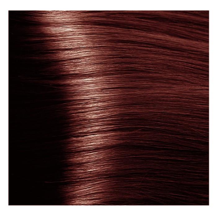 Крем-краска 6.5 Тёмный махагоновый блонд Studio Professional с экстрактом женьшеня и рисовыми протеинами, 100 мл