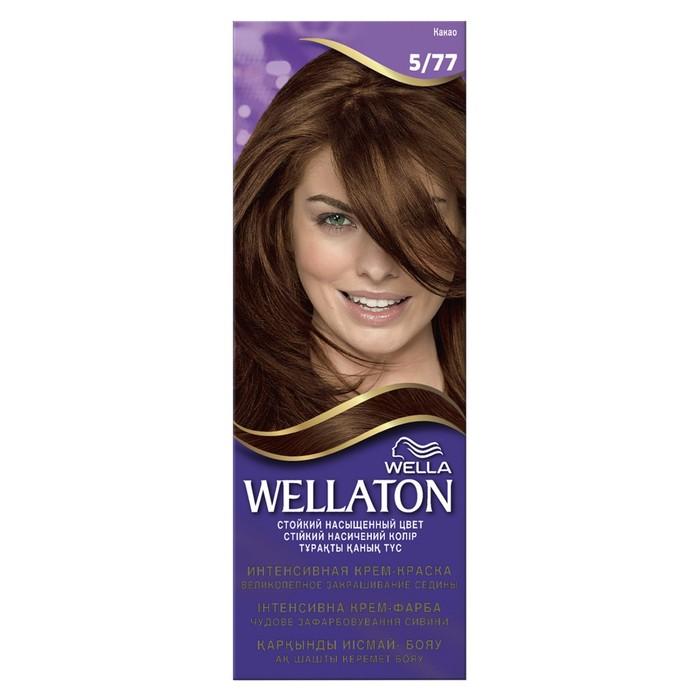 Крем-краска для волос Wellaton, 5/77 Какао
