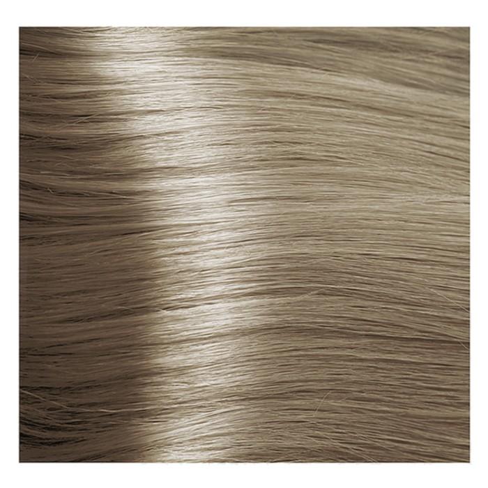 Крем-краска для волос Kapous с гиалуроновой кислотой, 9.1 Очень светлый блондин, пепельный, 100 мл