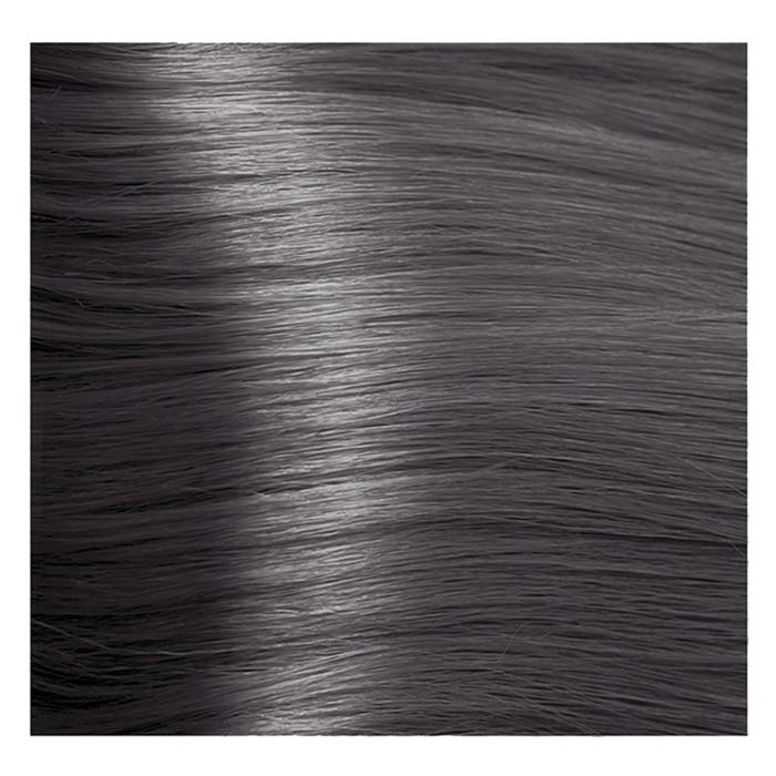Крем-краска для волос Kapous с гиалуроновой кислотой, 8.18 Светлый блондин, лакричный, 100 мл