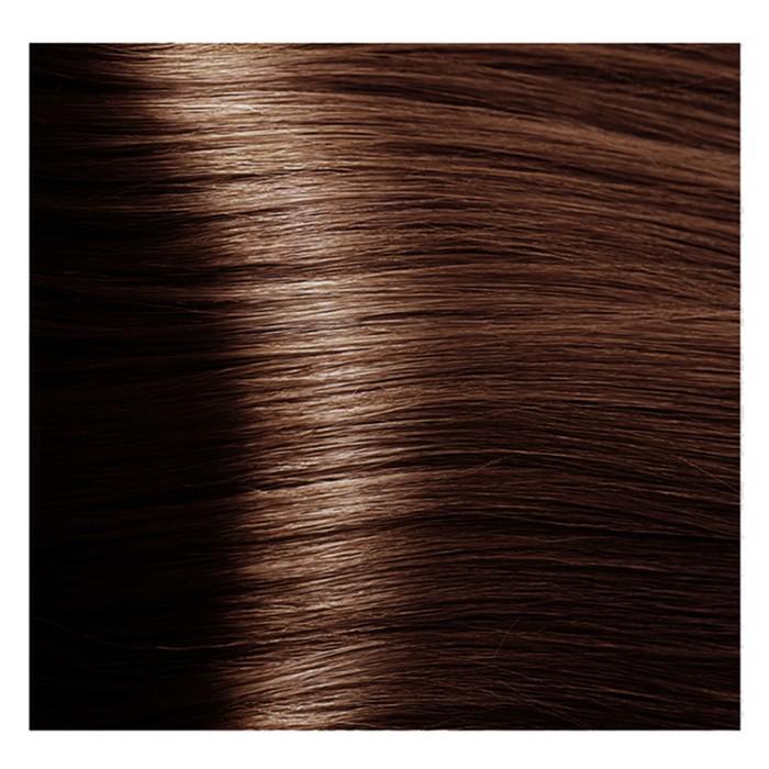 Крем-краска для волос Kapous с гиалуроновой кислотой, 5.43 Светлый коричневый, медный, золотистый, 100 мл