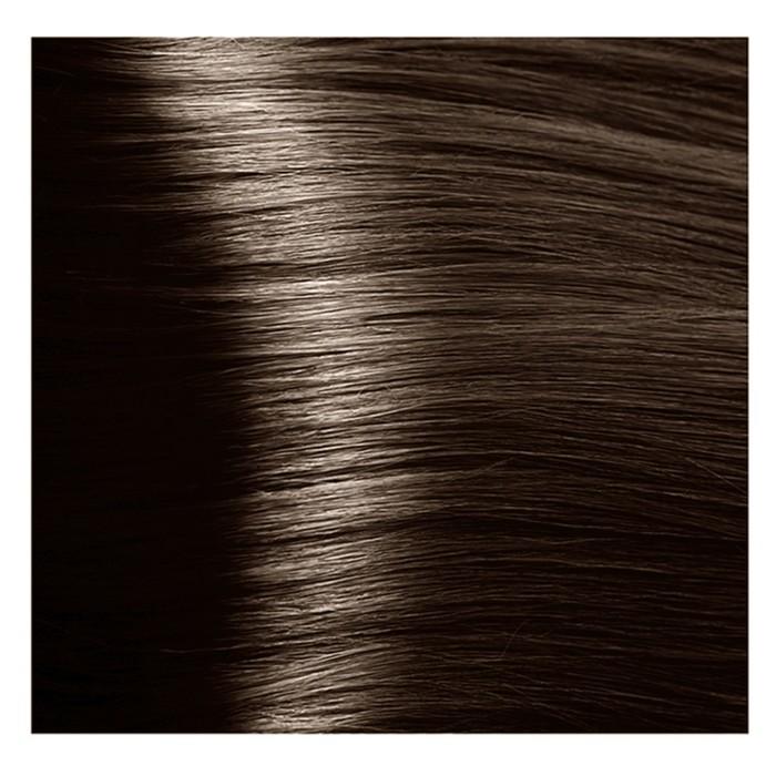 Крем-краска для волос Kapous с гиалуроновой кислотой, 6.0 Тёмный блондин, 100 мл