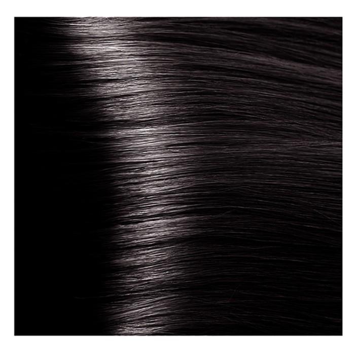 Крем-краска для волос Kapous с гиалуроновой кислотой, 4.8 Коричневый какао, 100 мл