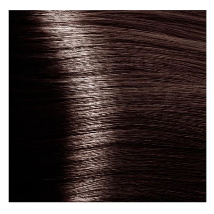 Крем-краска для волос Kapous с гиалуроновой кислотой, 6.8 Тёмный блондин, капучино, 100 мл