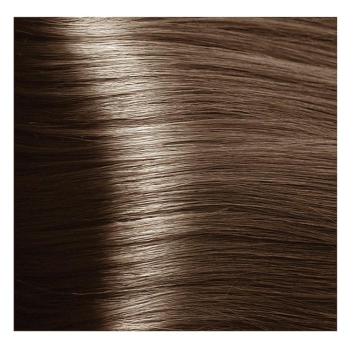Крем-краска для волос Kapous с гиалуроновой кислотой, 7.81 Блондин карамельно-пепельный, 100 мл