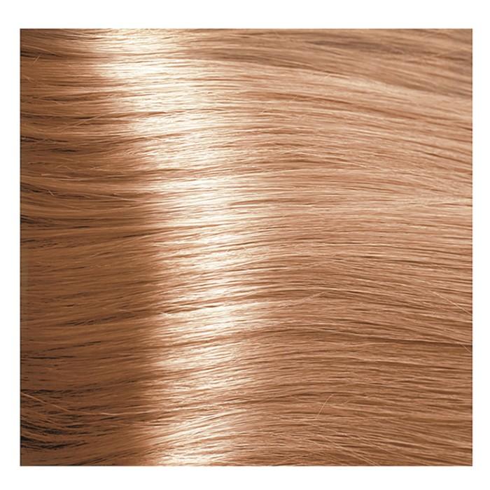 Крем-краска для волос Kapous с гиалуроновой кислотой, 9.4 Очень светлый блондин, медный, 100 мл