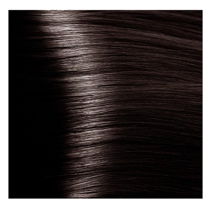 Крем-краска для волос Kapous с гиалуроновой кислотой, 4.757 Коричневый пралине, 100 мл