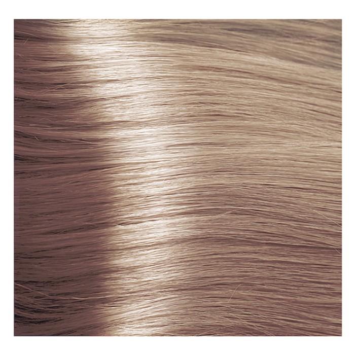 Крем-краска для волос Kapous с гиалуроновой кислотой, 923 Осветляющий, перламутровый, бежевый, 100 мл