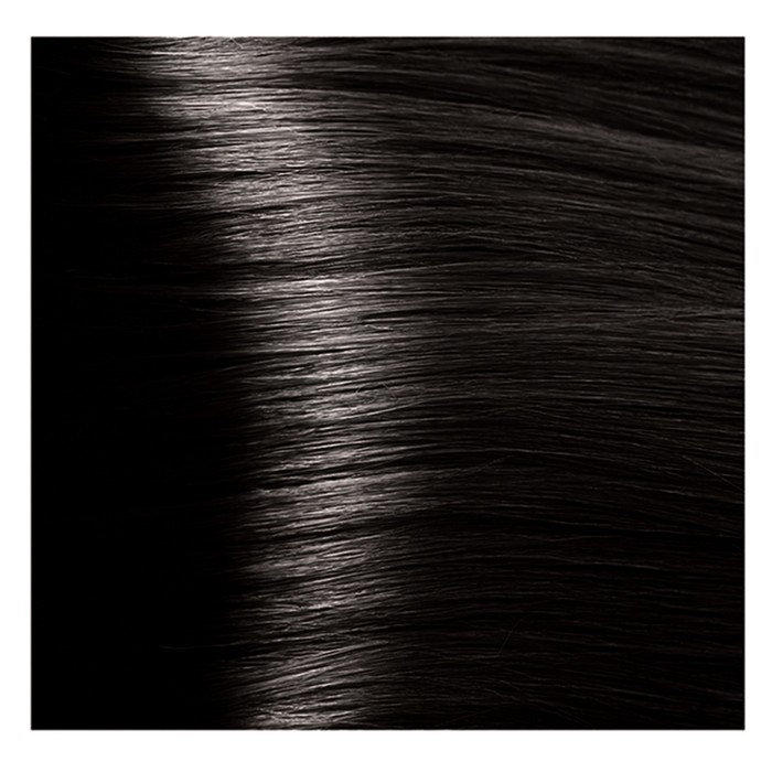 Крем-краска для волос Kapous с гиалуроновой кислотой, 3.00 Темно-коричневый интенсивный, 100 мл