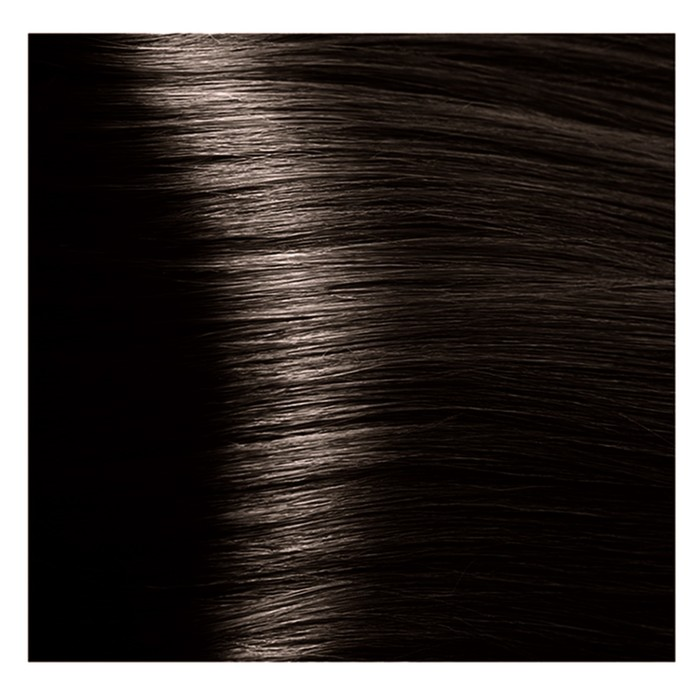 Крем-краска для волос Kapous с гиалуроновой кислотой, 4.0 Коричневый, 100 мл