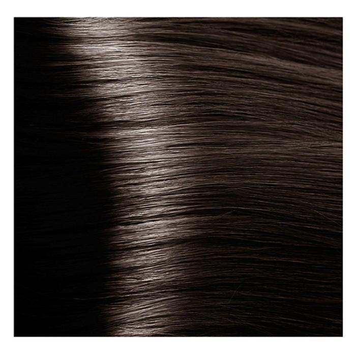 Крем-краска для волос Kapous с гиалуроновой кислотой, 5.1 Светлый коричневый пепельный, 100 мл