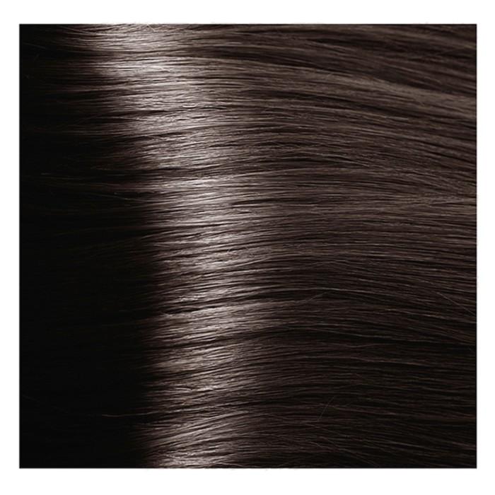 Крем-краска для волос Kapous с гиалуроновой кислотой, 6.1 Тёмный блондин, пепельный, 100 мл