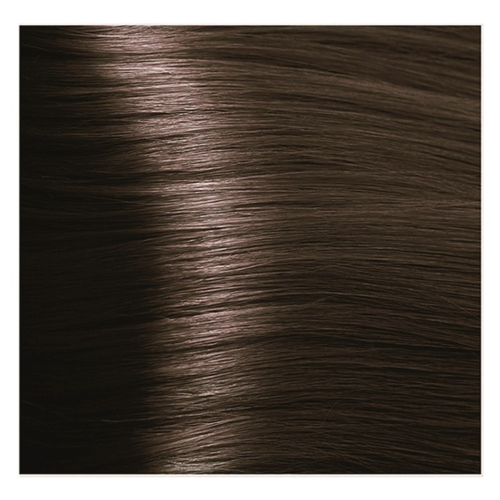 Крем-краска для волос Kapous с гиалуроновой кислотой, 5.3 Светлый коричневый золотистый, 100 мл