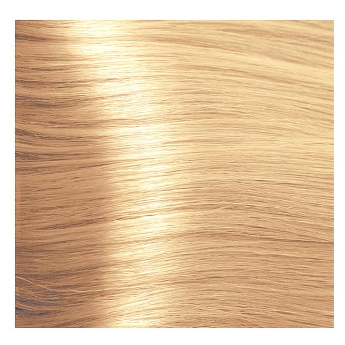 Крем-краска для волос Kapous с гиалуроновой кислотой, 9.3 Очень светлый блондин, золотистый, 100 мл