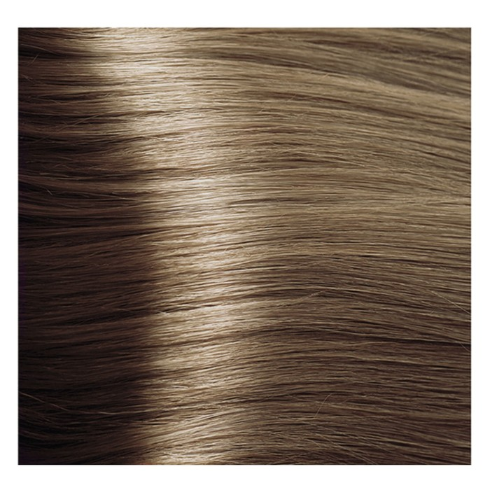 Крем-краска для волос Kapous с гиалуроновой кислотой, 8.13 Светлый блондин, бежевый, 100 мл
