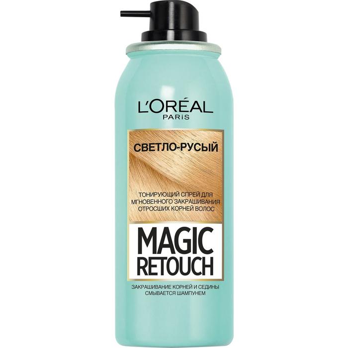 Тонирующий спрей L'Oreal Magic Retouch, оттенок светло-русый, 75 мл