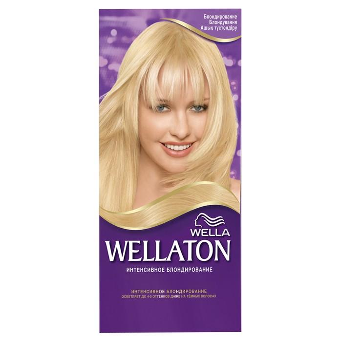 Краска для волос Wellaton, Блондирование