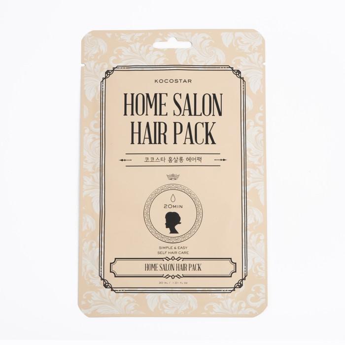Восстанавливающая маска для волос Kocostar Home Salon Hair Pack, 30 мл