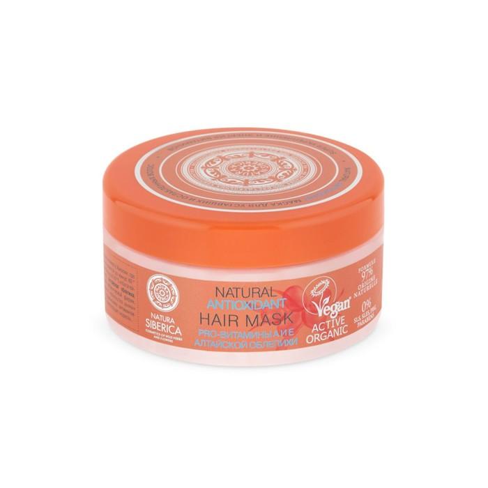 Маска Natura Siberica Antioxidant для уставших и ослабленных волос, 300 мл