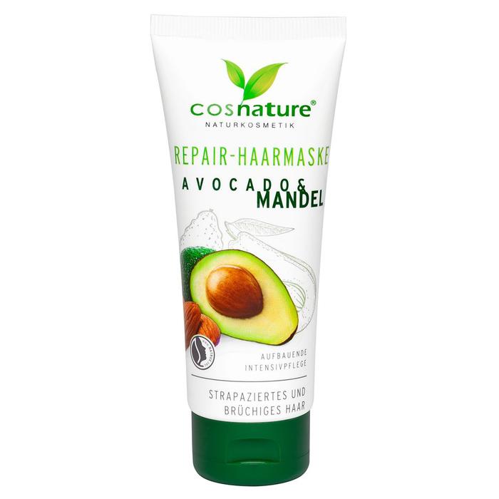 Маска для волос Cosnature «Авокадо и Миндаль», восстанавливающая, 100 мл