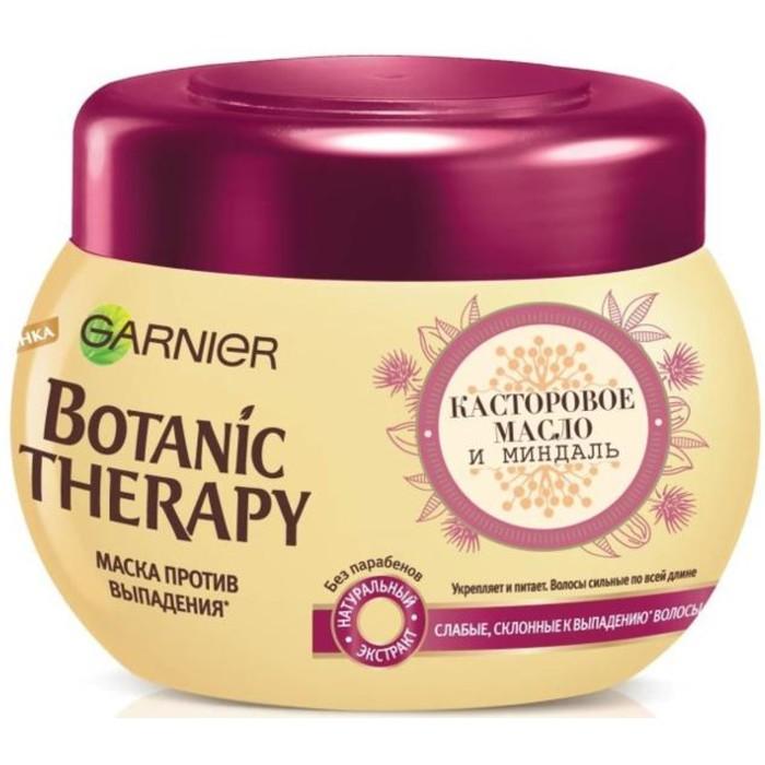 Маска Garnier Botanic Therapy «Касторовое масло и миндаль», для склонных к выпадению волос, 300 мл