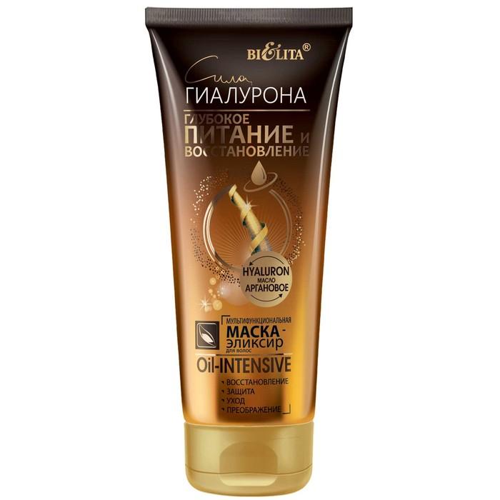 Маска-эликсир для волос Oil-Intensive Bielita Глубокое питание и восстановление, 200 мл