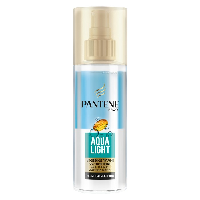 Питательный двухфазный спрей Pantene Aqua Light, 150 мл