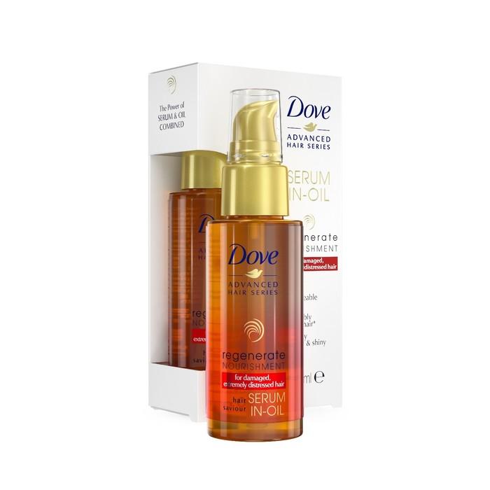 Масло-сыворотка Dove Advanced Hair Прогрессивное восстановление, 50 мл