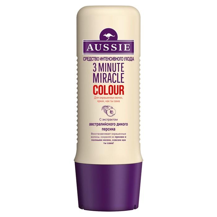 Средство интенсивного ухода Aussie 3 Minute Miracle Colour для окрашенных волос,250 мл