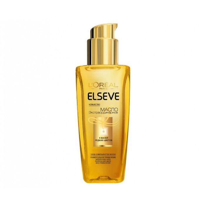 Масло для волос L'Oreal Elseve «Экстраординарное», для всех типов волос, 100 мл