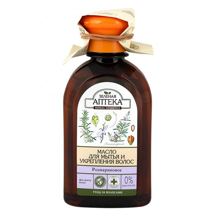 Масло для волос Зелёная Аптека «Розмариновое», для укрепления и роста волос, 250 мл