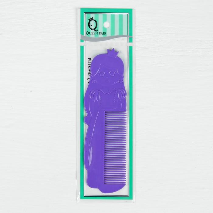 Расчёска фигурная, цвет МИКС